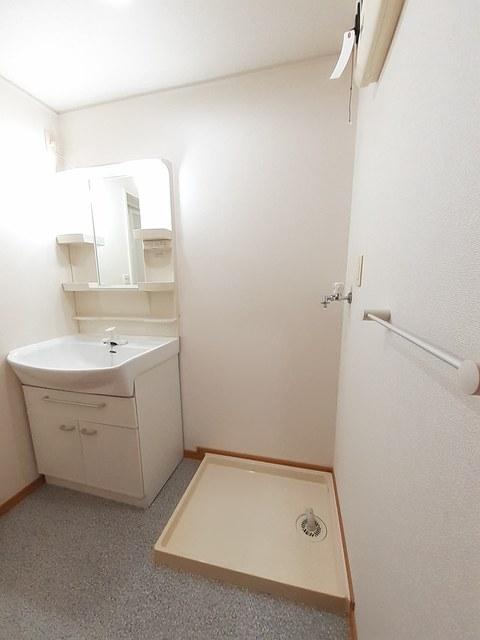 メゾン・フレ-シュ A棟 02010号室の洗面所