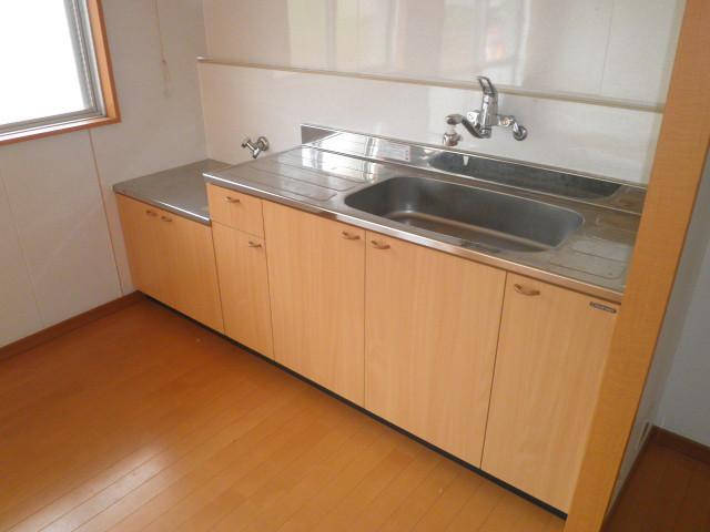 ワイズタウン 2棟 303号室のキッチン