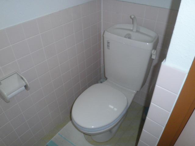 ワイズタウン 2棟 303号室のトイレ