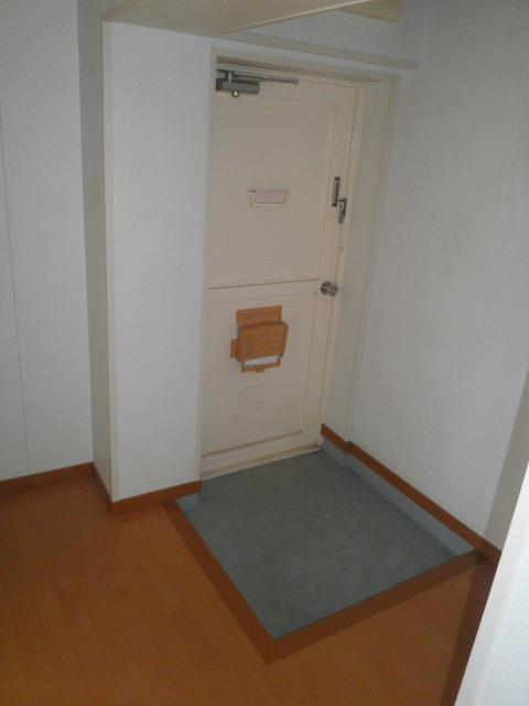 ワイズタウン 2棟 303号室の玄関