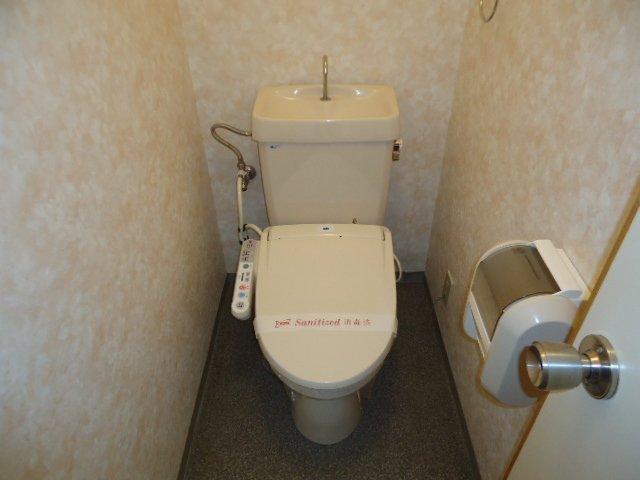 レインボー S・R 00203号室のトイレ