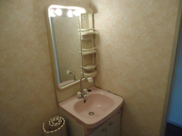 レインボー S・R 00203号室の洗面所