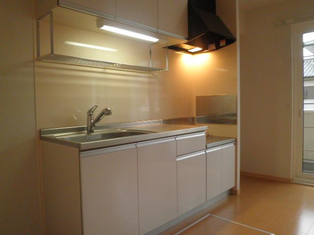 モン ブラン 01030号室のキッチン
