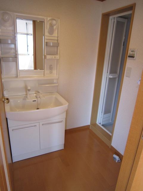 コンフォート樋ノ爪 102号室の洗面所