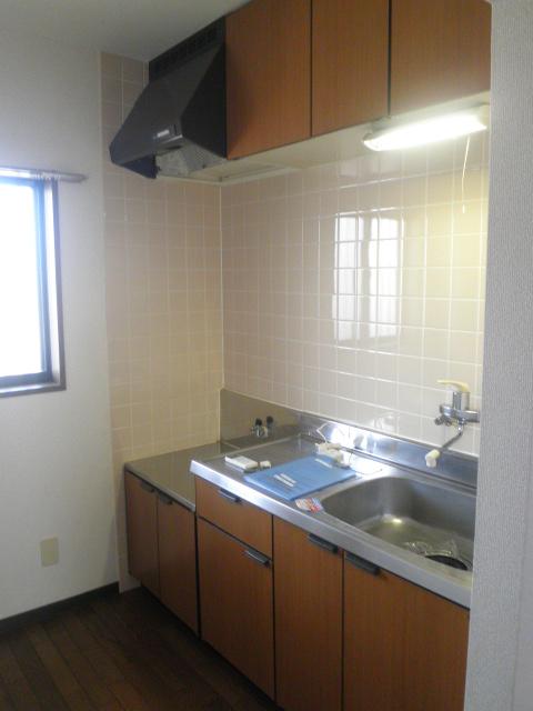 コンフォート楠 205号室のキッチン