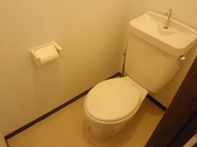 コンフォート楠 205号室のトイレ