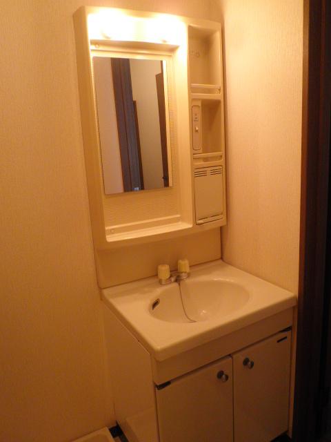 コンフォート楠 205号室の洗面所