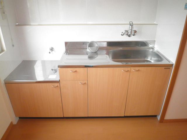 ワイズタウン 1棟 301号室のキッチン