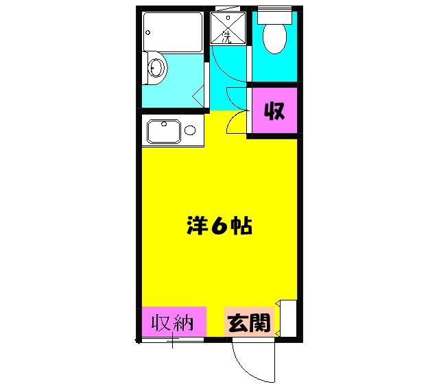 第5黒崎ビル・103号室の間取り