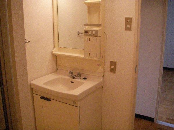 柳沢マンション 103号室の洗面所