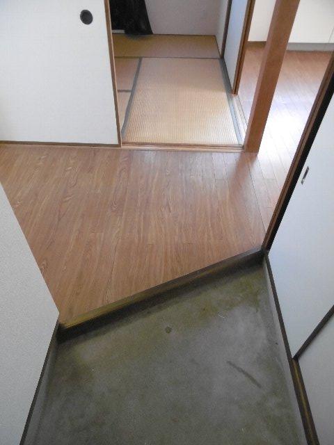 服部マンション 301号室の玄関