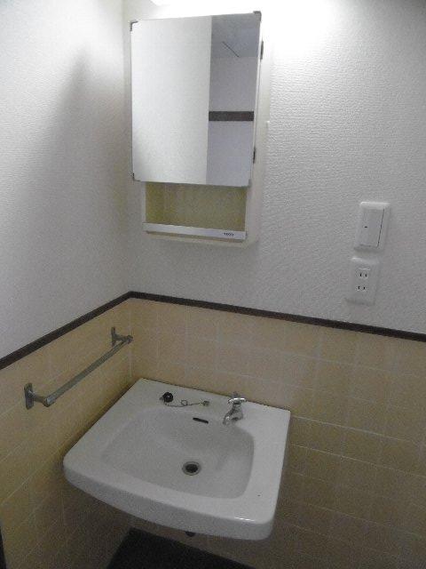 服部マンション 301号室の洗面所