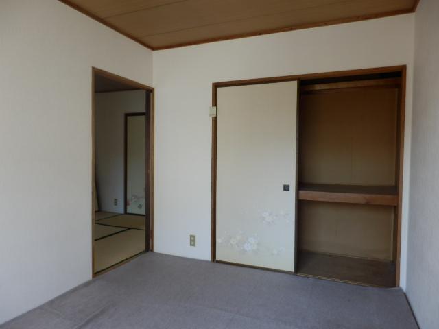 サンコーポ 202号室のベッドルーム