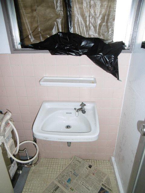 瑞穂ビル 502号室の洗面所