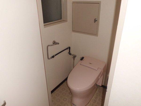 第3菊屋ビル 3E号室のトイレ