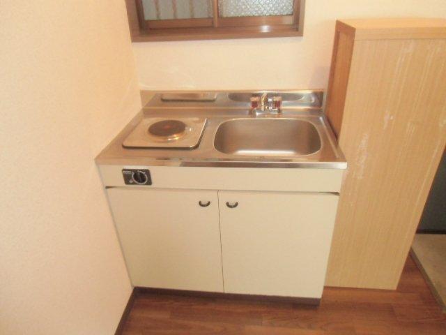 ラビデンススグモ 102号室のキッチン