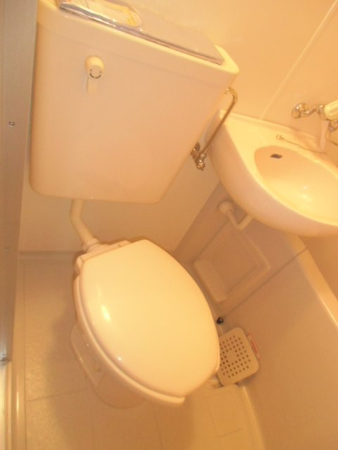 ラビデンススグモ 102号室のトイレ