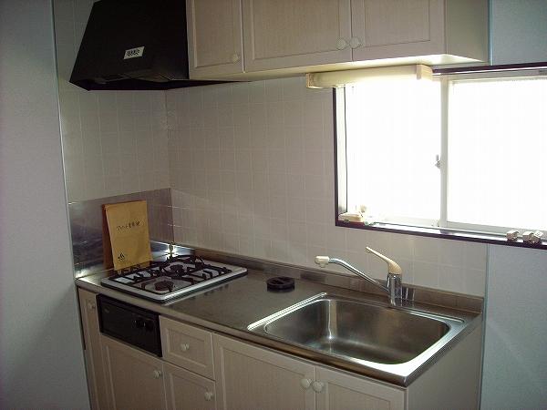 クレスト藤ケ丘A/B B202号室のキッチン