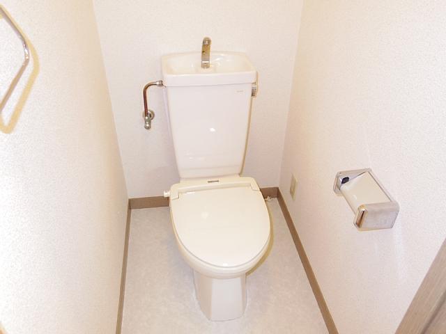 IBはら 310号室のトイレ