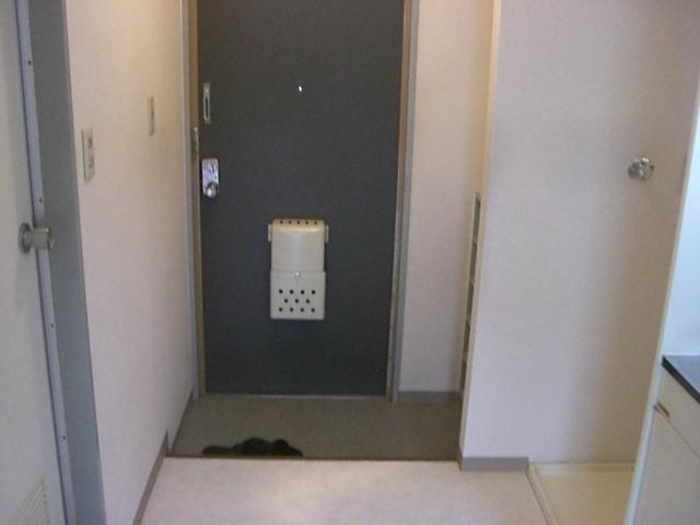 コーポわかば 202号室の玄関