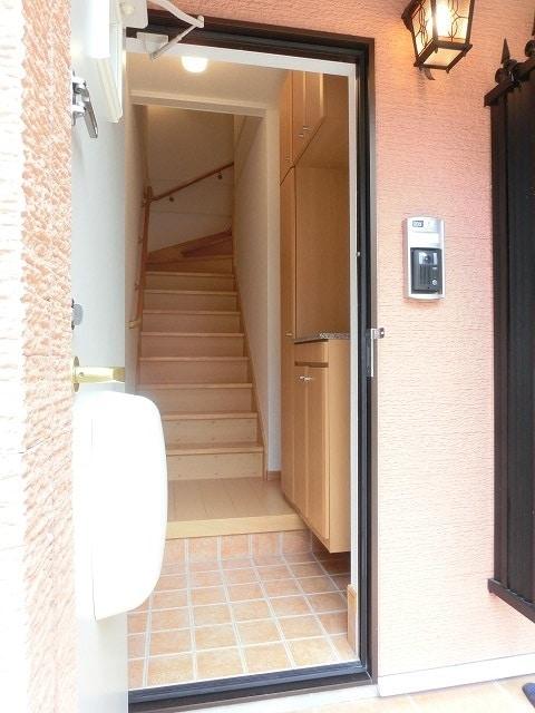 レジデンス ブロッコリーE棟 02030号室の玄関