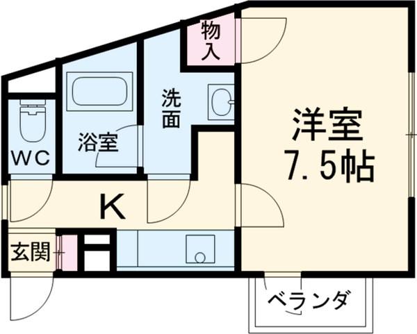 桜ヒルズ・301号室の間取り