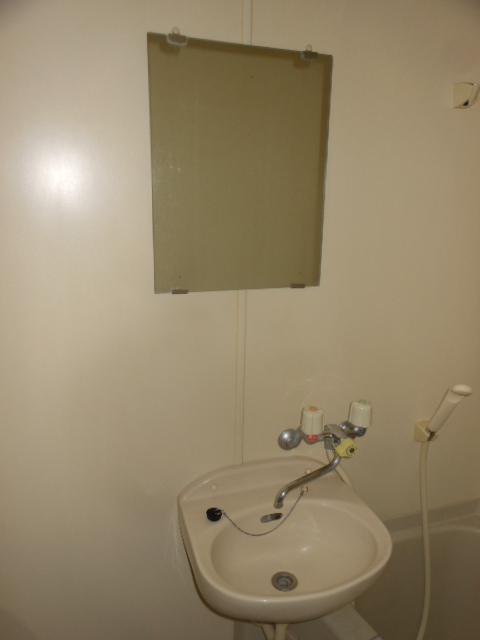 フラット若田 203号室の洗面所