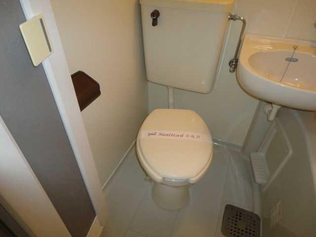 コーポパーシモン 201号室のトイレ