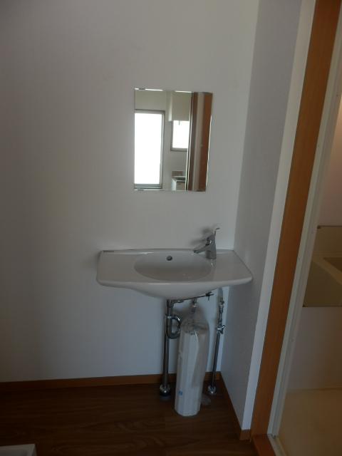 ハウシェル星崎 1-A号室の洗面所