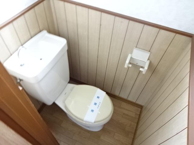コスモハイツ 202号室のトイレ