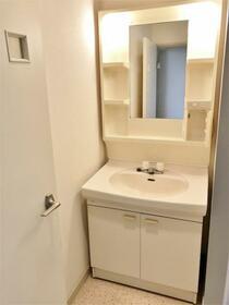 グランパレス 302号室の洗面所