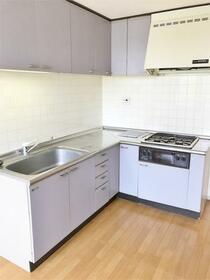グランパレス 302号室のキッチン