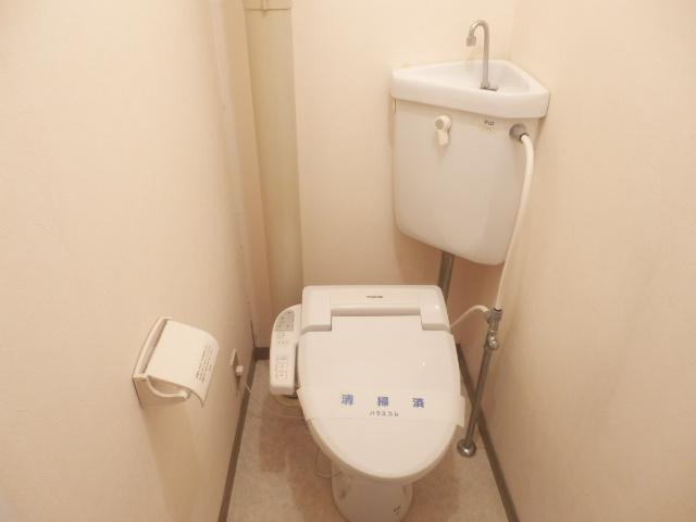 パークマンション 302号室のトイレ