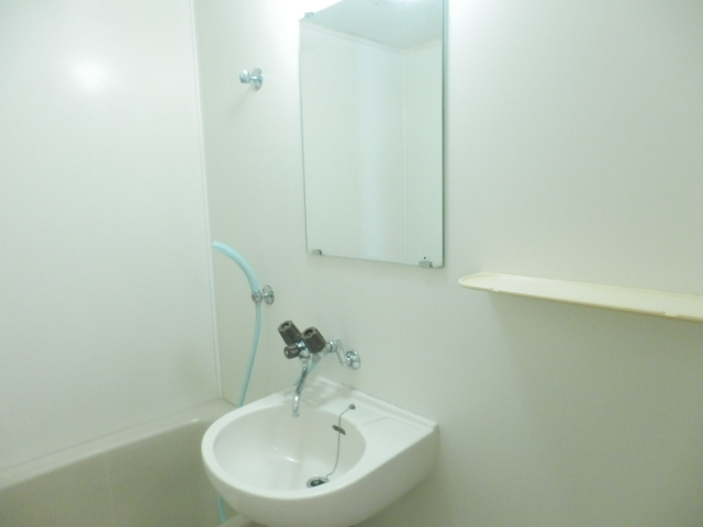 パークマンション 302号室の洗面所