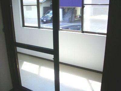 フォーラム丸塚 Ⅱ 103号室のバルコニー