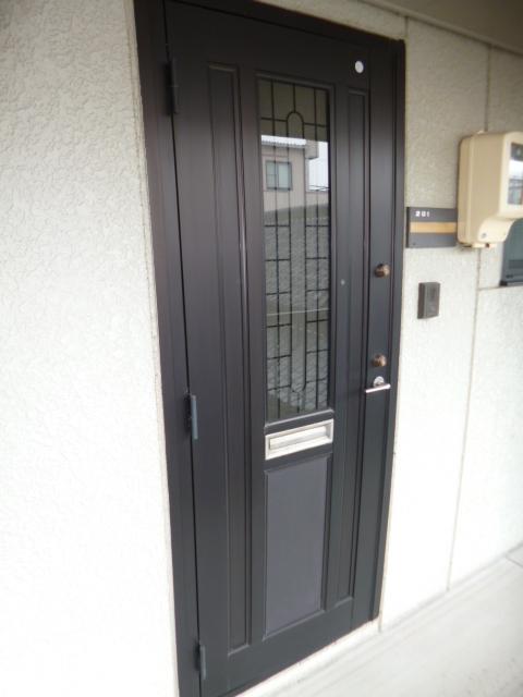 セジュール・オオムラ 102号室の玄関