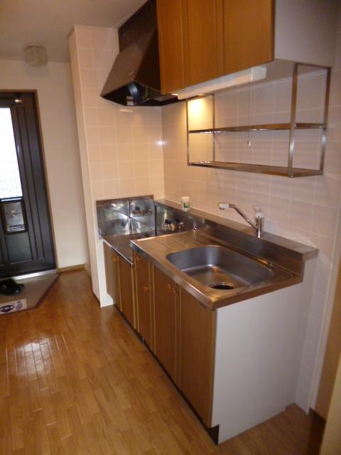 セジュール・オオムラ 102号室のキッチン