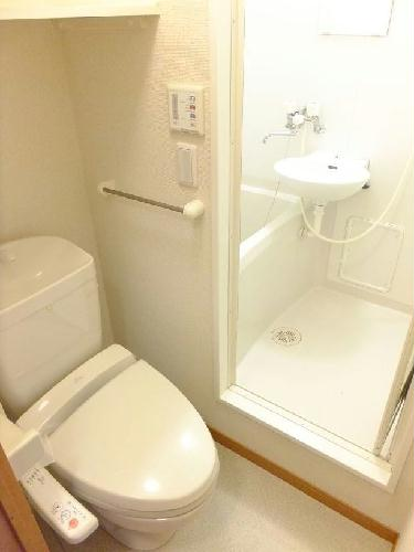 レオパレスMercury 209号室のトイレ