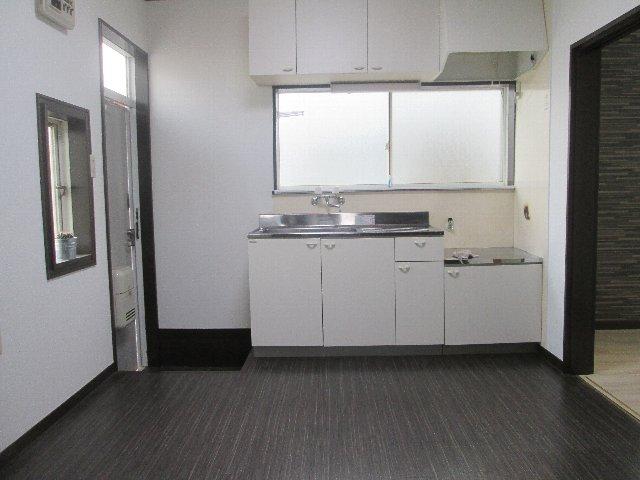 ボグナーハウス 1号室のキッチン