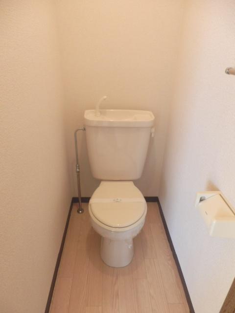 マンションカズ 406号室のトイレ
