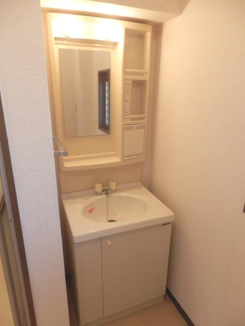マンションカズ 406号室の洗面所