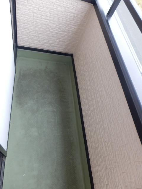 ハイステージ新橋 B 201号室のバルコニー