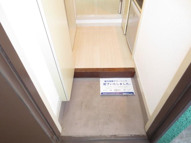 ジュネパレス新検見川第01 101号室の玄関