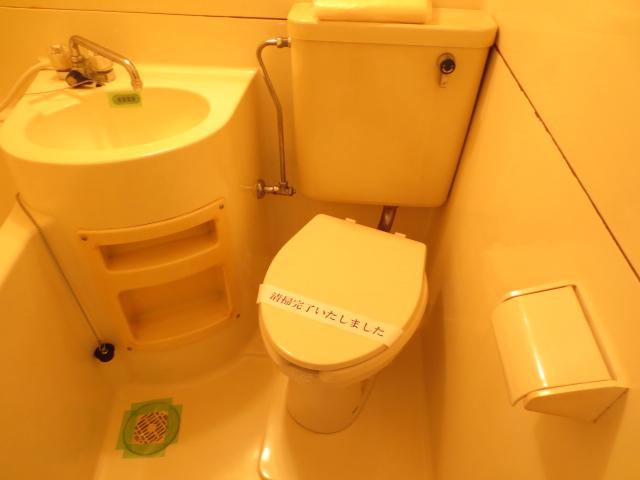 ジュネパレス新検見川第01 101号室のトイレ