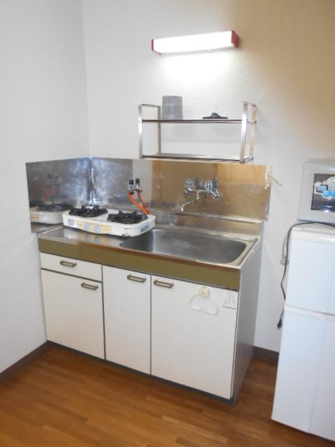 ハウス・ヨダ 104号室のキッチン
