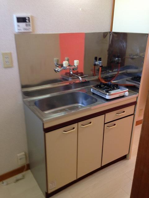 ハウス・ヨダ 201号室のキッチン