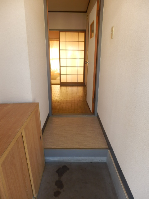 ファミール神田 205号室の玄関