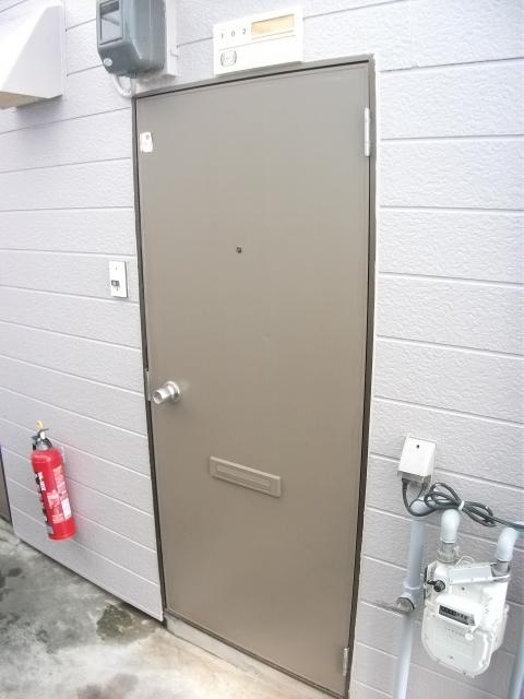 フジハイツ 102号室のセキュリティ