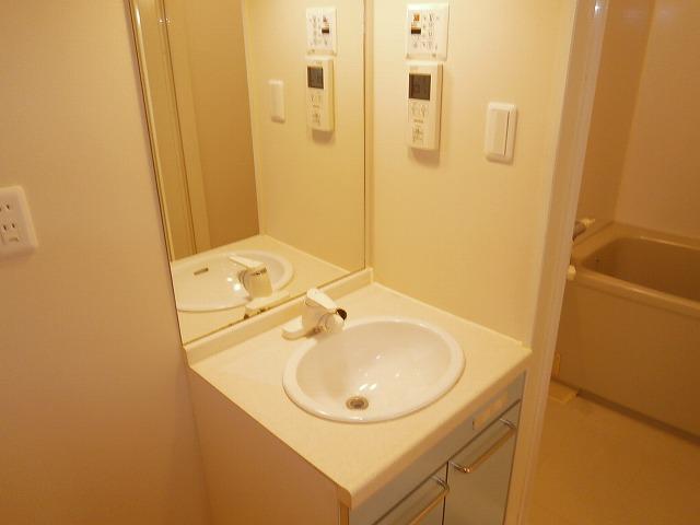 シャトーヨサミ 222号室の洗面所