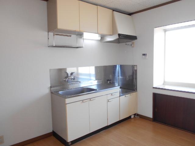カーサひだまりA 201号室のキッチン